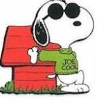 Snoopy as Joe Cool